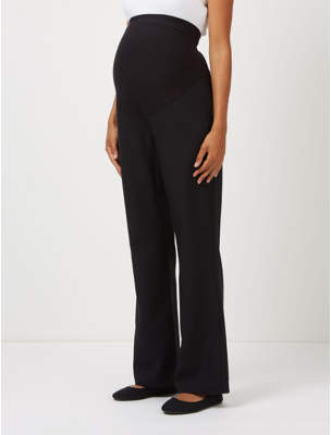 George Black Maternity Over Bump Bootcut Trousers