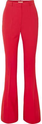 Michael Kors Wool-blend Gabardine Flared Pants
