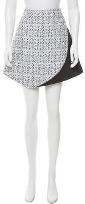 Narciso Rodriguez Textured Mini Skirt