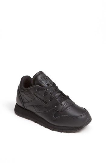 Reebok 'Classic' Leather Sneaker (Baby, Walker & Toddler)