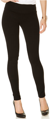 INC International Concepts Pull-On Ponte Skinny Pants, Only at Macy's $49.50 thestylecure.com