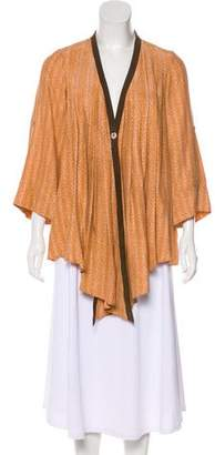 Elizabeth and James Silk Button-Up Top
