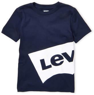 Levi's Boys 8-20) Oversized Batwing Logo Tee