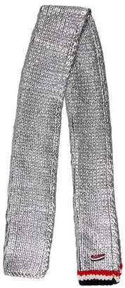 Thom Browne Metallic Cable-Knit Scarf