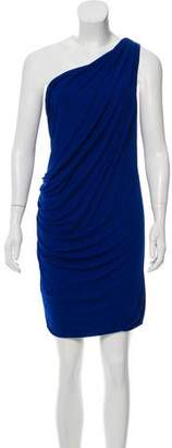 Yigal Azrouel Cut25 by Ruched One-Shoulder Dress w/ Tags