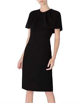 Carla Zampatti Parisian Chic Caped Dress