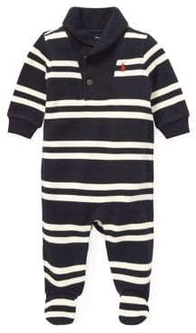 Ralph Lauren Childrenswear Baby Boy's Shawl French Rib Coverall