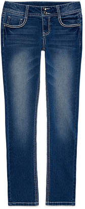 Arizona Embellished-Back-Pocket Jeans - Girls 7-16
