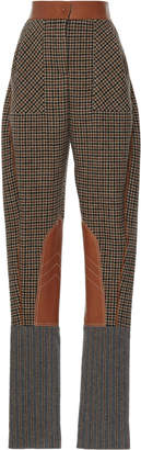 Loewe Check Carrot Trouser