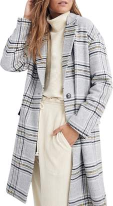 Madewell Plaid Bryant Coat
