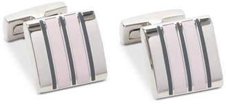 Ryan Seacrest Distinction Men's Mosaic Enamel Cuff Links, Created for Macy's
