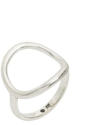 Women's Madewell Open Circle Ring $18 thestylecure.com