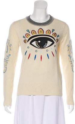 Kenzo Embroidered Long Sleeve Sweater