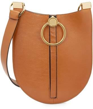 Marni Earring Tawny Leather Shoulder Bag
