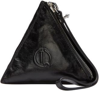 McQ Alexander Mcqueen Black Pyramid Coin Pouch $160 thestylecure.com