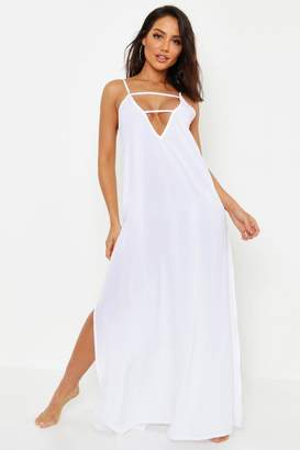 2d6ac54c079ec White Beach Maxi Dress - ShopStyle UK