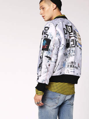 Diesel Jackets 0HASK - White - L