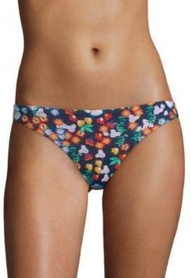 Shoshanna Floral-Print Bikini Bottom