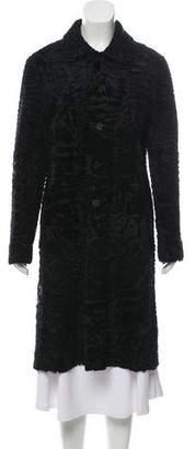 J. Mendel Lamb Patchwork Coat