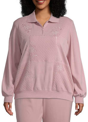 Alfred Dunner Home For The Holidays Embroidered Blouse - Plus