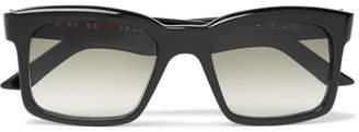 Burton Kirk Originals Square-Frame Acetate Sunglasses - Men - Black