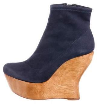 Alice + Olivia Platform Ankle Booties