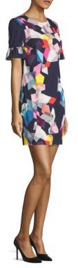 Trina Turk Darling Printed Shift Dress $298 thestylecure.com