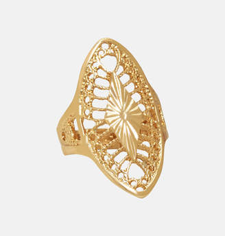 Avenue Gold Filigree Stretch Ring