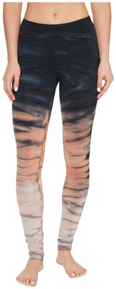 Hard Tail - Flat Waist Ankle Leggings Women's Casual Pants $74 thestylecure.com