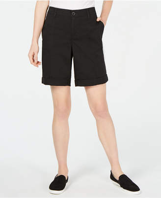 Style&Co. Style & Co Cuffed Seam-Detailed Shorts