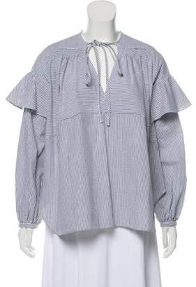 Rachel Comey Long Sleeve Ruffled Top w/ Tags