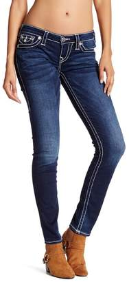 True Religion Skinny Big T Flap Pocket Jean $249 thestylecure.com