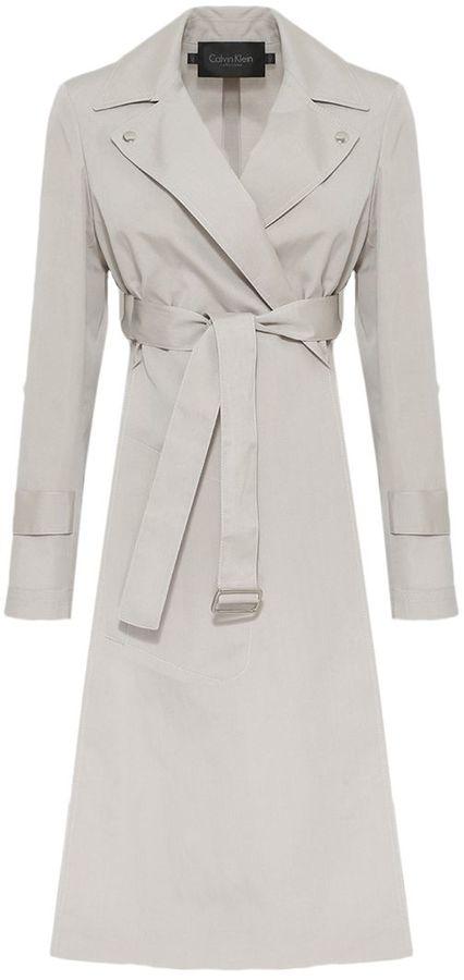 Calvin KleinCalvin Klein Belted Coat