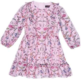 Juicy Couture Whimsical Pansy Georgette Dress for Girls