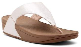 FitFlop Lulu Wedge Thong Sandal