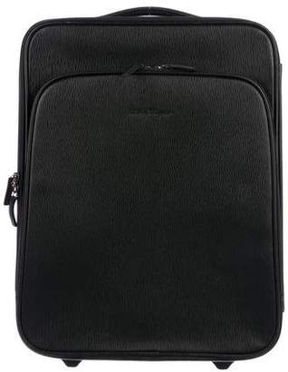 Salvatore Ferragamo Grained Leather Carry-On