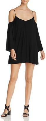 Elan Cold-Shoulder Dress $88 thestylecure.com