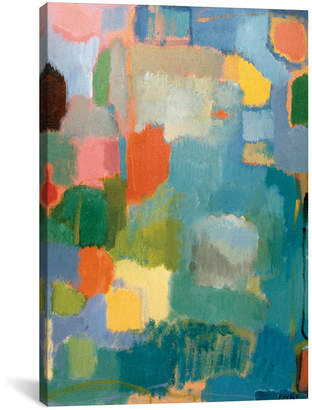 "iCanvas Color Essay In Turquoise"" By Kim Parker Gallery-Wrapped Canvas Print - 26"" x 18"" x 0.75"""