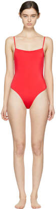 Solid and Striped SSENSE Exclusive Red The Chelsea Swimsuit