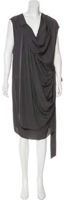Alexander Wang Wrap Midi Dress