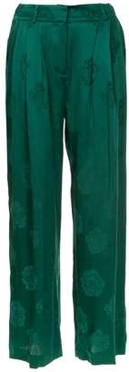 Magda Butrym pleated high waisted trousers