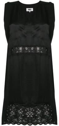 MM6 MAISON MARGIELA v-neck dress