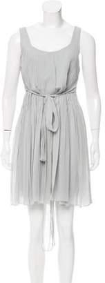 Alberta Ferretti Sleeveless Mini Dress blue Sleeveless Mini Dress