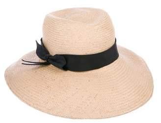 Yestadt Millinery Wide-Brim Straw Hat