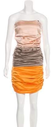 Elisabetta Franchi Silk Mini Dress w/ Tags