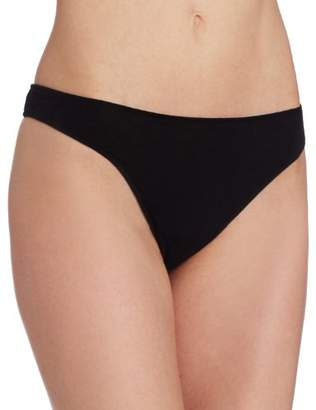 Only Hearts Women's Organic Cotton Basic Thong Panty