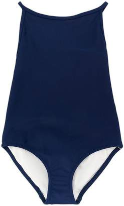 Burberry Check Detail swimsuit