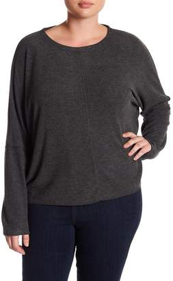 H By Bordeaux Hacci Dolman Sweater (Plus Size)
