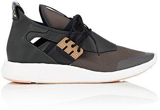 Y-3 Women's Elle Run Neoprene & Leather Sneakers $320 thestylecure.com