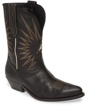 Golden Goose Wish Star Cowboy Boot
